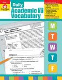 Daily Academic Vocabulary  Grade 3 PDF