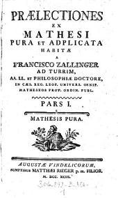 Mathesis Pura: Volume 1