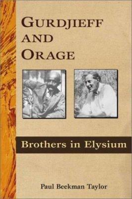 Gurdjieff and Orage PDF