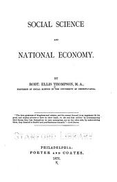 Social Science and National Economy