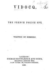 Memoirs of Vidocq, etc. With plates