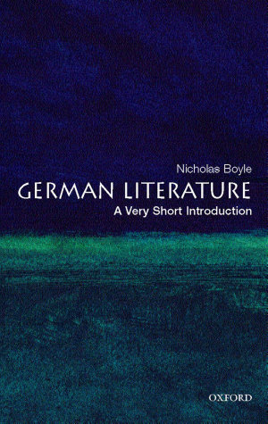 German Literature  A Very Short Introduction