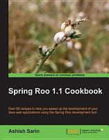 Spring Roo 1 1 Cookbook PDF