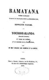 Ramayana: poème sanscrit, Volume9
