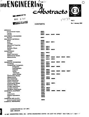 Bioengineering Abstracts PDF