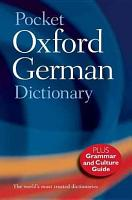 Pocket Oxford German Dictionary PDF