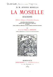 D.M. Ausonii Mosella: La Moselle d'Ausone