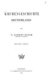 Kirchengeschichte Deutschlands: Band 1