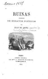 Ruinas: colección de ensayos poéticos