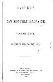Harper's New Monthly Magazine: Volume 66