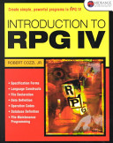Introduction to RPG IV PDF