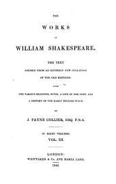 """The"" Works Of William Shakespeare: Volume 3"