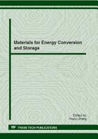 Materials for Energy Conversion and Storage PDF