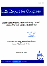 Near Term Options for Reducing United States Carbon Dioxide Emissions PDF