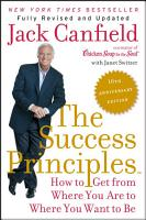 The Success Principles TM    10th Anniversary Edition PDF