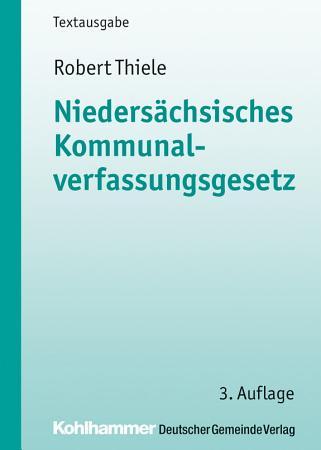 Nieders  chsisches Kommunalverfassungsgesetz PDF