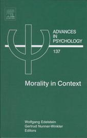 Morality in Context