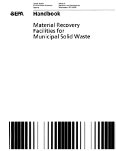Material Recovery Facilities for Municipal Solid Waste