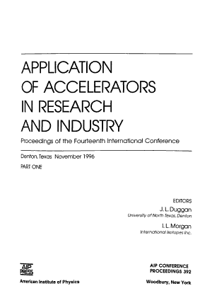 Application of Accelerators in Research and Industry PDF