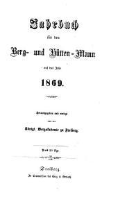 Jahrbuch für den Berg- und Hüttenmann: 1869