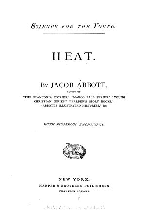 Science for the Young  Heat