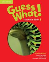 Guess What  American English Level 1 Student s Book PDF