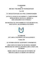 Yearbook of Varna University of Management PDF