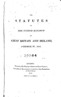 The Statutes of the United Kingdom of Great Britain and Ireland PDF