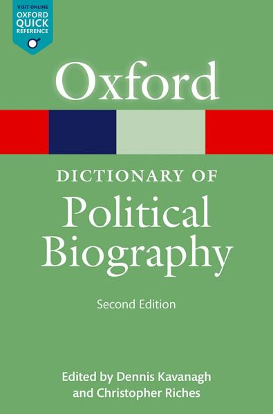 Download A Dictionary of Political Biography Book