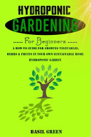 Hydroponic Gardening for Beginners PDF