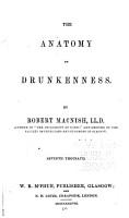 The Anatomy of Drunkenness PDF