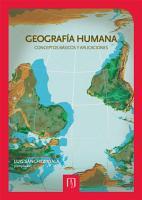 Geograf  a humana PDF