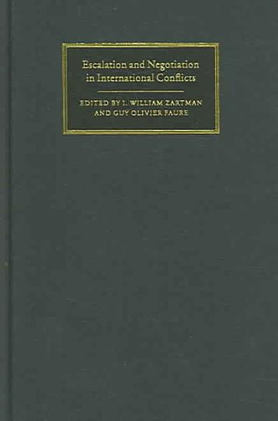 Escalation and Negotiation in International Conflicts PDF