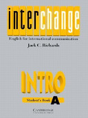 Interchange Intro Student s book A