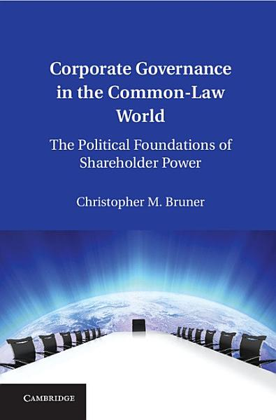 Corporate Governance in the Common Law World PDF