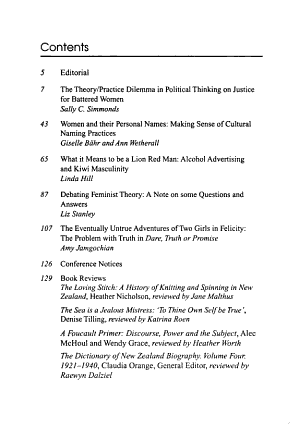 Women s Studies Journal PDF