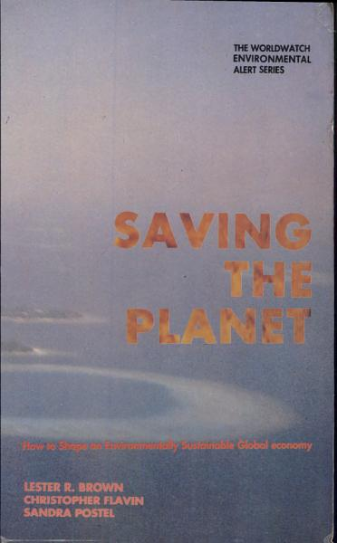 Download saving the planet Book