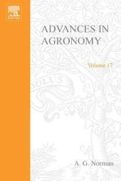 Advances in Agronomy: Volume 17