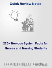 225+ Human Nervous System Facts for Nursing & Health Science Students: Quick review study notes for students
