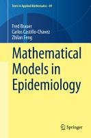 Mathematical Models in Epidemiology PDF