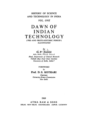 History of Science and Technology in India PDF