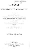 A Naval Biographical Dictionary PDF