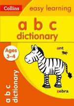 ABC Dictionary Ages 3-4: Prepare for Preschool with easy home learning (Collins Easy Learning Preschool)