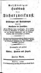 Bollftandiges Handbuch der Bieharqneifunft