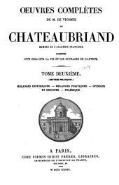 Oeuvres complètes de M. le vicomte de Chateaubriand: Volume2
