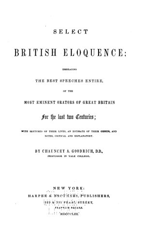 Select British Eloquence