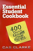 Essential Student Cookbook PDF