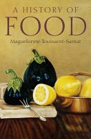 A History of Food PDF