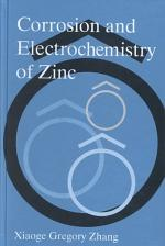 Corrosion and Electrochemistry of Zinc
