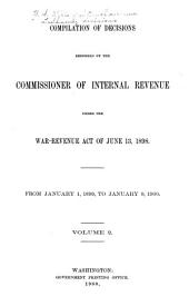 Treasury Decisions Under Internal Revenue Laws of the United States: Volume 2